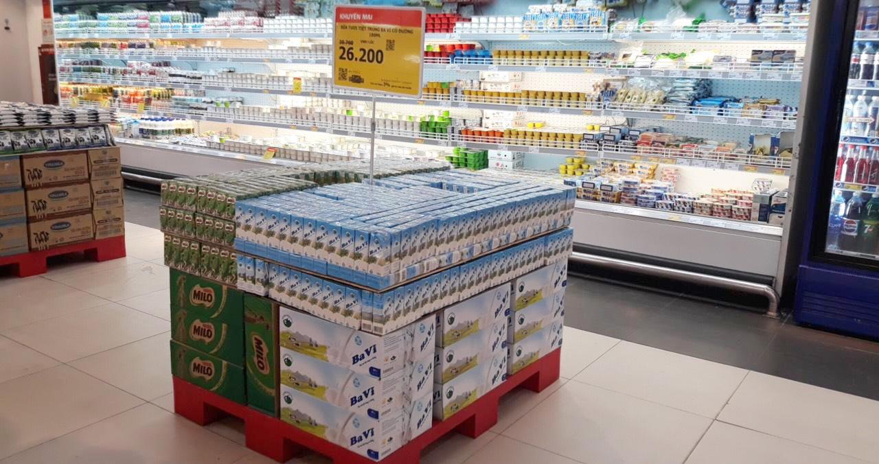 Một sản phẩm tại siêu thị