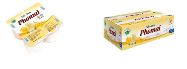 Sữa chua Phomai Ba Vì loại hộp 70g (4 hộp/ lốc), 32 hộp/ thùng